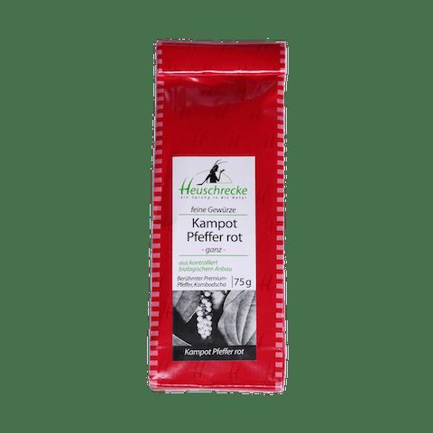Kampot, rot, Verpackung