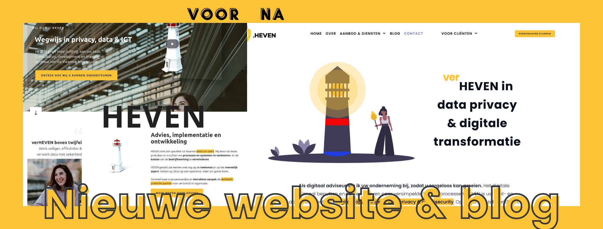 Cover Image for Nieuwe website en blog voor HEVEN