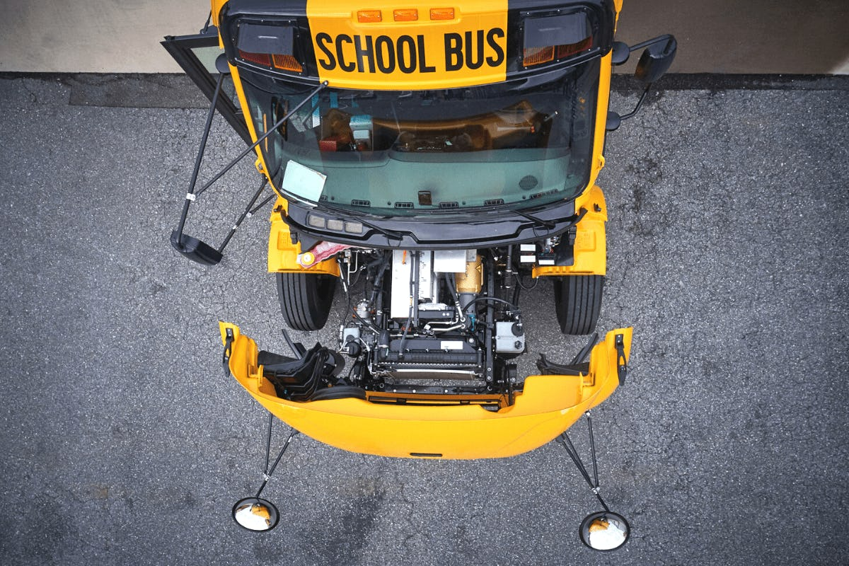 Massachusetts Electric School Bus Helps Power Electricity Grid in Breakthrough for Vehicle-to-Grid Technology