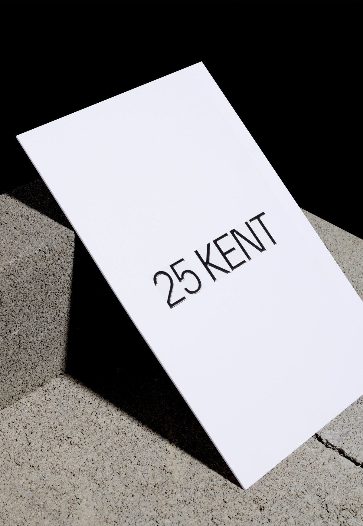 Feature: 25 KENT on The Brand Identity