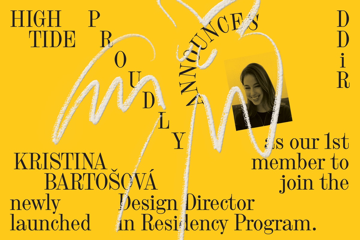 Announcement: Our Inaugural Design Director in Residence
