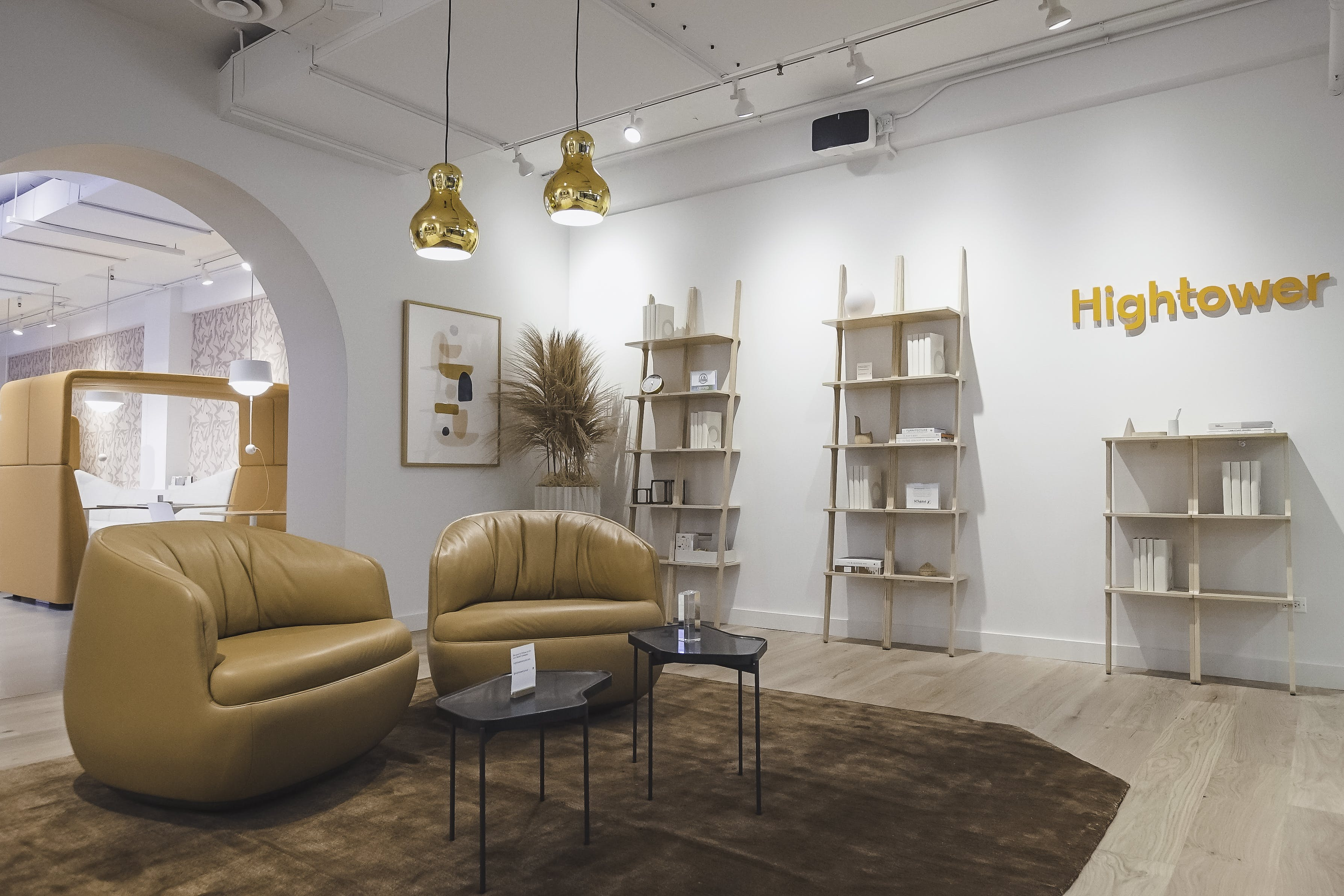 Hightower's Chicago Showroom at theMART showroom.