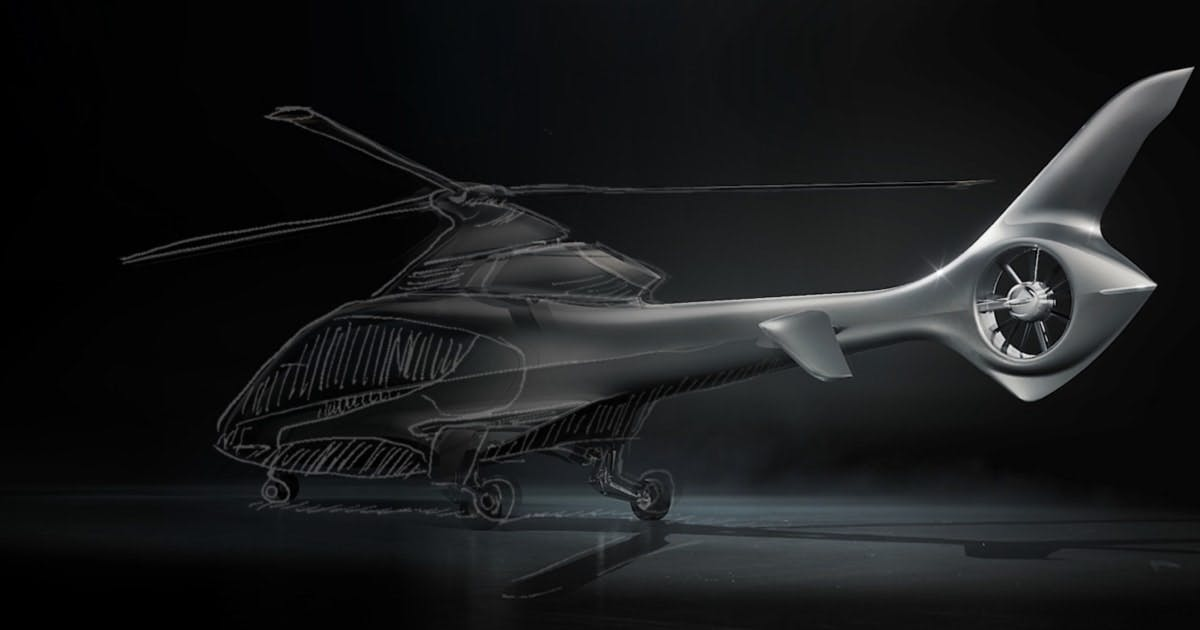 HX50 Design - Hill Helicopters