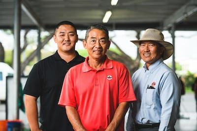Kurt, Craig, & Max Yoshikawa, McKinley Car Wash