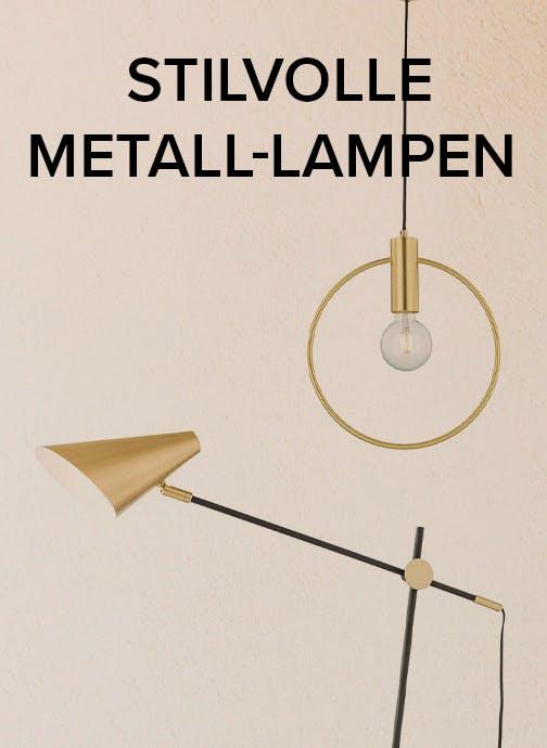 Metall-Lampen