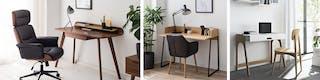 Kleines Home-Office angenehm gestalten mit Bürostühlen und ergonomischen Schreibtischen