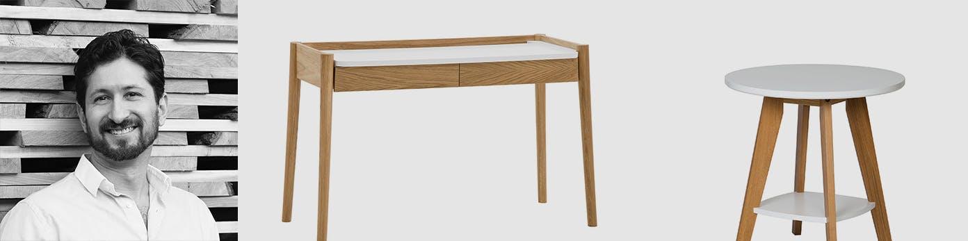 Designerportrait von Leonhard Pfeifer sowie seine entworfenen Möbel aus minimalistischem Holz
