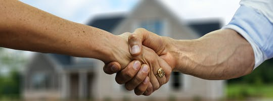 Hand greeting
