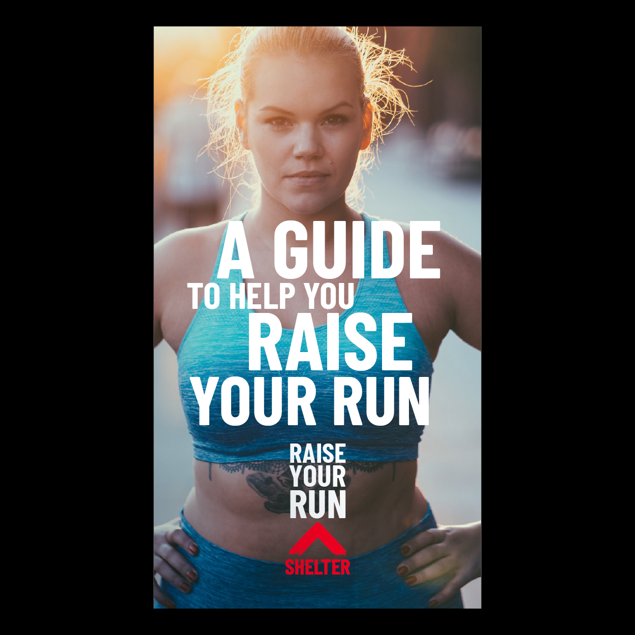Front cover of the running pack