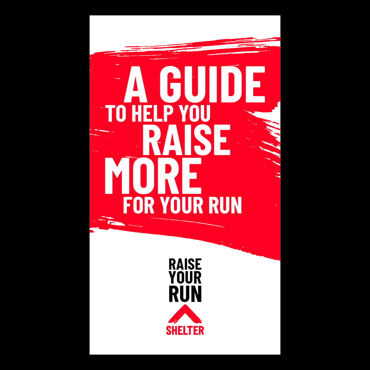 Front cover of the fundraising guide