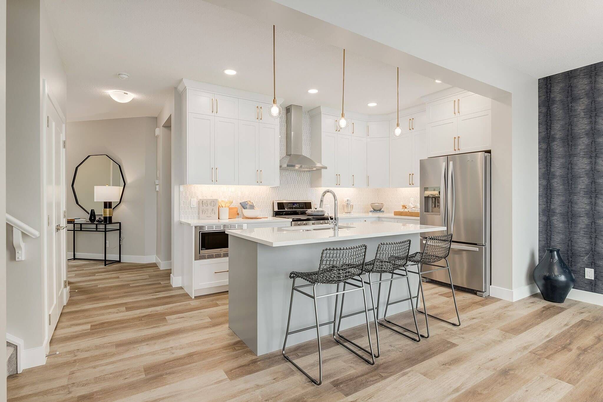 A kitchen of a showhome