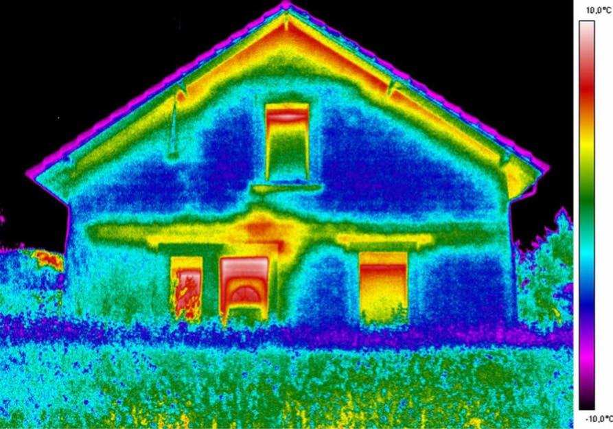image thermique maison