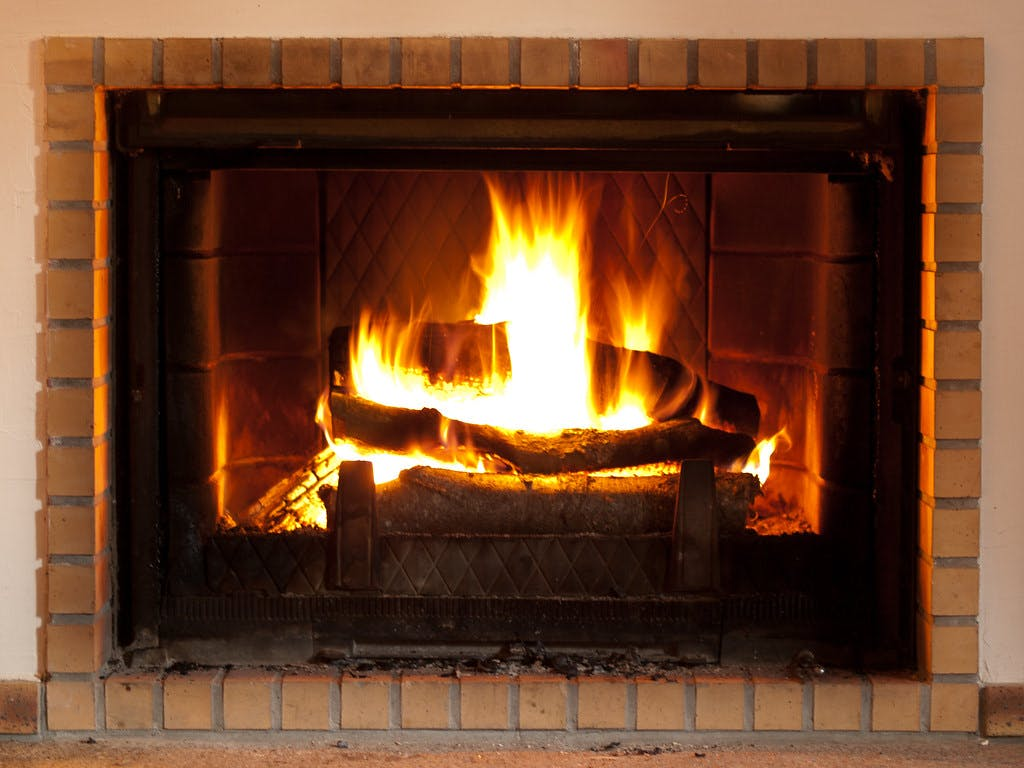 """""""Log Fire"""" by wwarby is licensed under CC BY 2.0"""