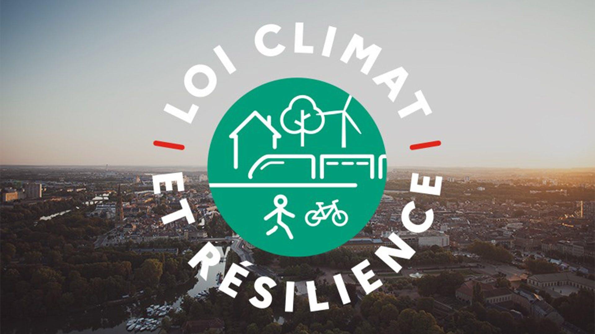 Logo Loi climat et résilience