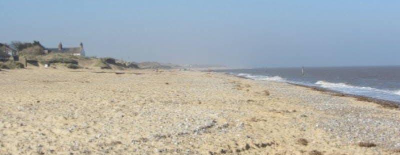 Caister-on-Sea Beach near Great Yarmouth
