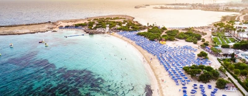 Makronissos Beach in Ayia Napa, Cyprus