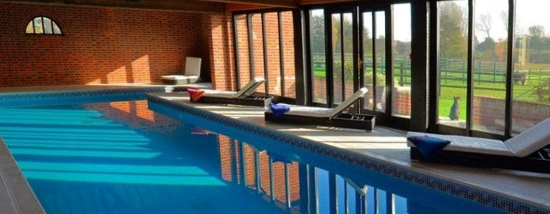 Lower Wood Country Farm Cottages indoor pool