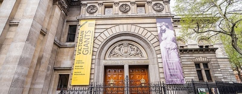 National Portrait Gallery, free art gallery in London