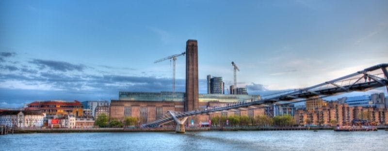 The Tate Museum of Modern Art in London