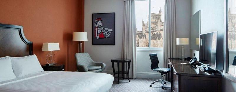 Bristol Marriott Royal Hotel, double room with a view