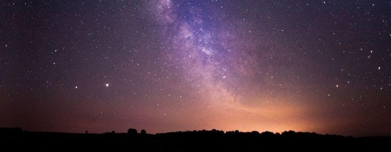 Exmoor National Park UK stargazing spot