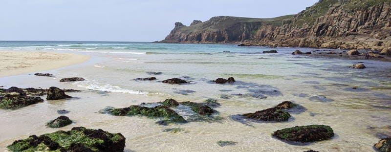 Nanjizal Cove beach, Cornwall