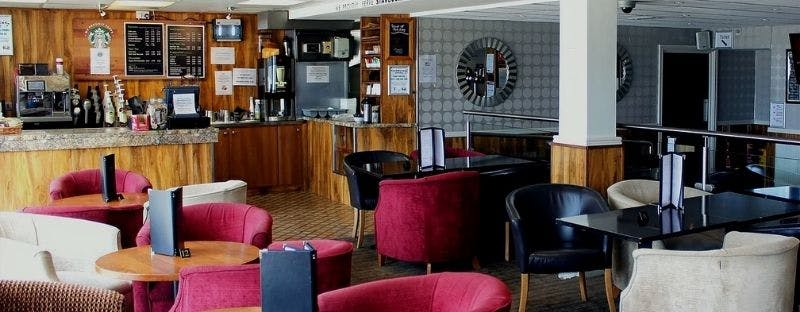 Royal Seabank Hotel bar in Blackpool