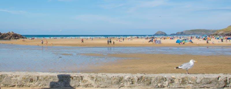 Perranporth Beach, Cornwall