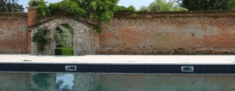 Fritton Lake Lodge outdoor pool