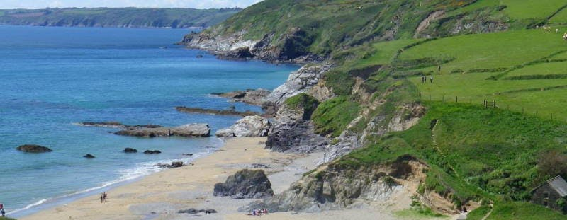 Hemmick Beach, Cornwall