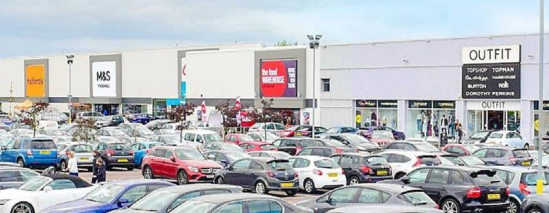 Gapton Hall Retail Park Shopping, Great Yarmouth