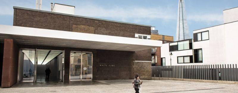 White Cube, free art gallery in London