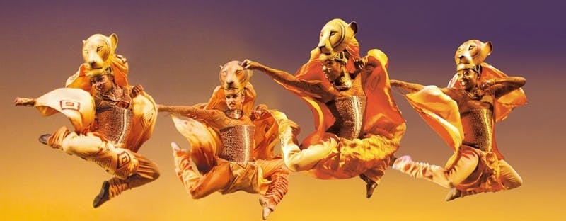 The Lion King live show in London