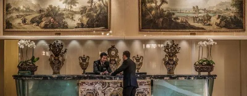 Rome Cavalieri art hotel