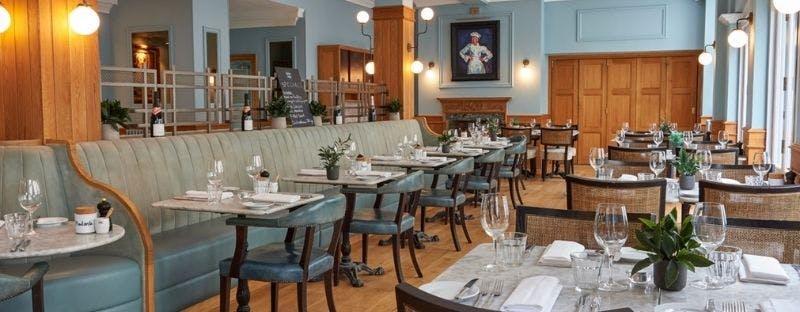 Hotel Du Vin restaurant in Brighton