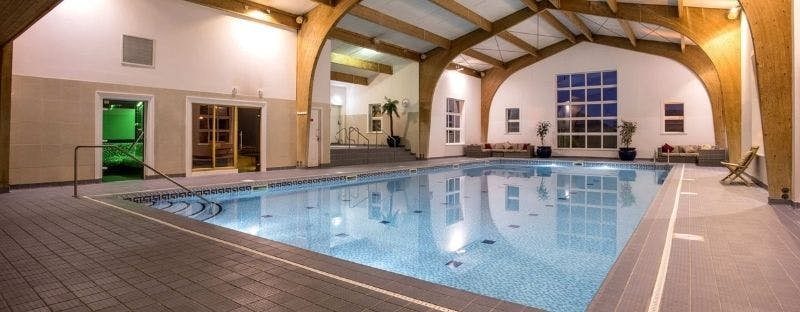 The Old Hall Hotel swimming pool