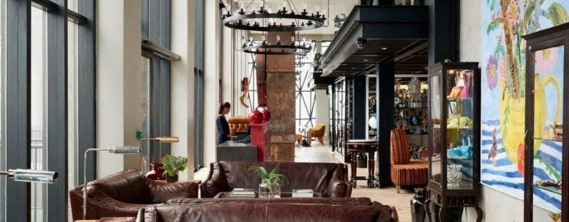 The Silo art hotel