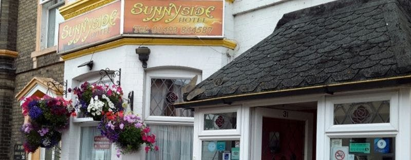 The Sunnyside hotel in Great Yarmouth