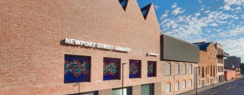 Newport Street Gallery, free art gallery in London