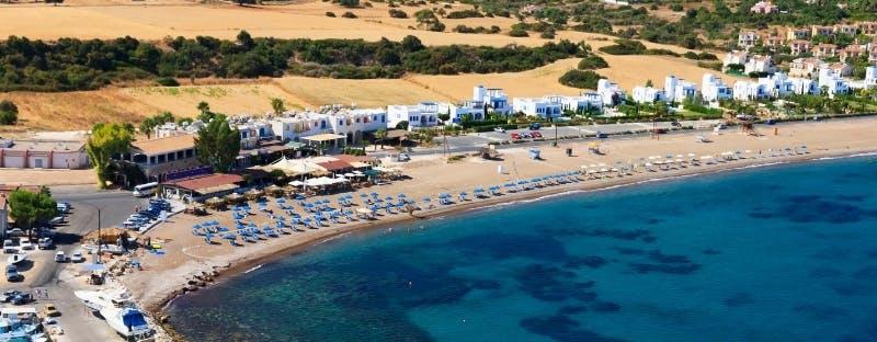 Mackenzie Beach in Larnaca, Cyprus