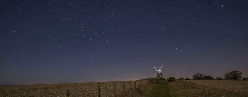 South Downs UK stargazing spot