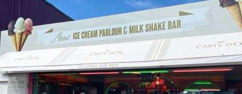 Great Yarmouth Pleasure Beach Leo's Ice Cream Parlour