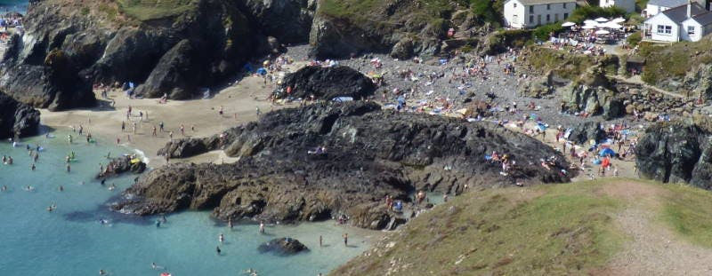 Kynance Cove beach, Cornwall