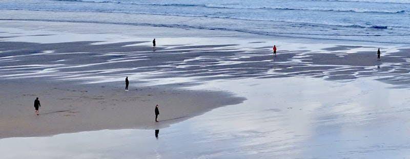 Watergate Bay beach, Cornwall