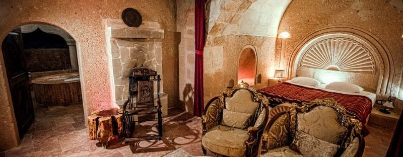 Oread Cave Suits, boutique hotel in Turkey