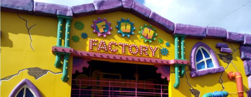 Great Yarmouth Pleasure Beach Fun Factory