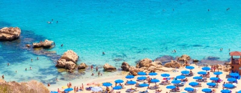 Konnos Bay in Ayia Napa, Cyprus