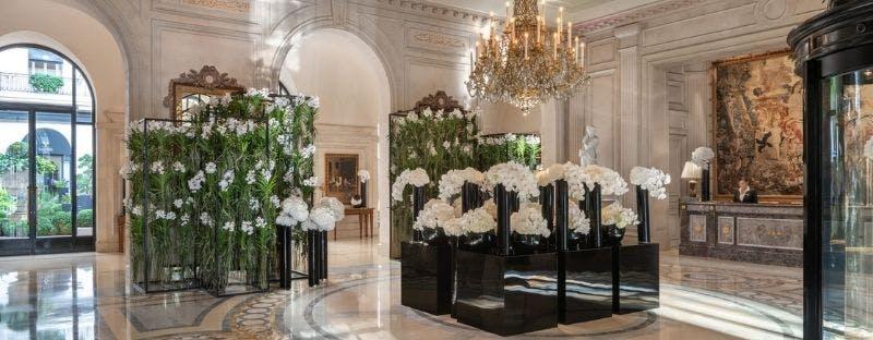 Four Seasons George V art hotel