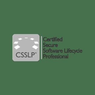 CSSLP certification logo