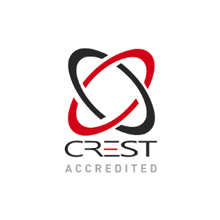 CREST accredited logo